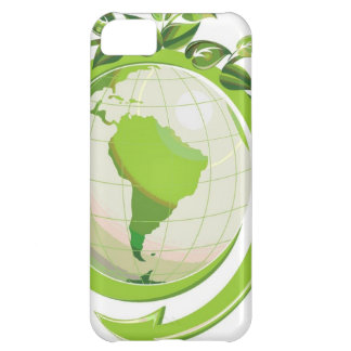 Reduce Reuse Recycle around the world iPhone 5C Cases