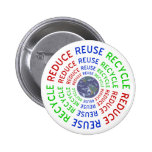 Reduce, Reuse, Recycle Button
