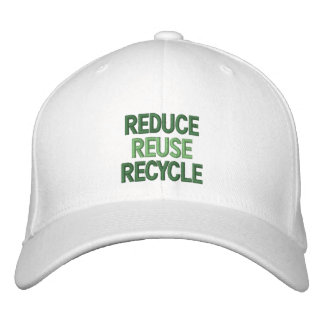 Reduce, Reuse, Recycle Cap