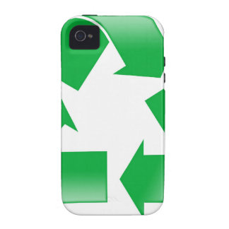Reduce Reuse Recycle Vibe iPhone 4 Cases