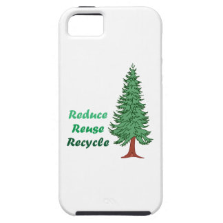 REDUCE REUSE RECYCLE iPhone 5 COVER