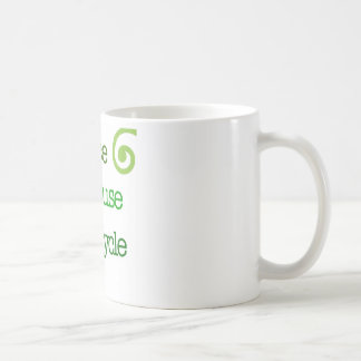 Reduce Reuse Recycle Coffee Mug
