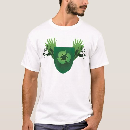 Reduce Reuse Recycle Crest T-Shirt