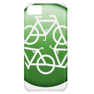 Reduce Reuse Recycle Green Bicycle iPhone 5C Case