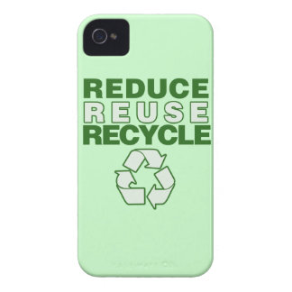 Reduce Reuse Recycle iPhone 4 Case-Mate Cases