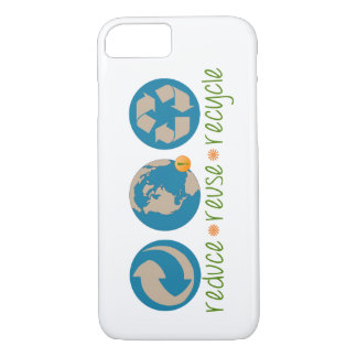 Reduce, Reuse, Recycle iPhone 7 Case