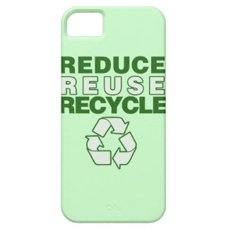 Reduce Reuse Recycle iPhone SE/5/5s Case