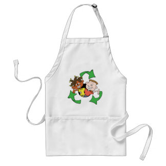 Reduce Reuse Recycle Kids Aprons