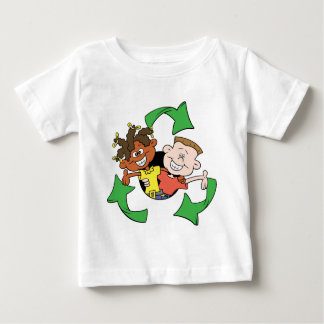 Reduce Reuse Recycle Kids Baby T-Shirt