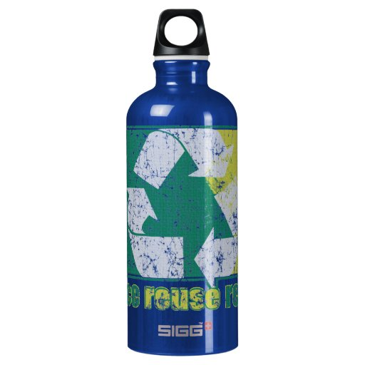 Reduce Reuse Recycle Liberty Water Drink Bottle SIGG Traveler 0.6L Water Bottle