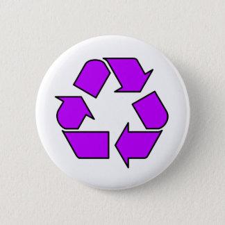 Reduce Reuse Recycle Logo Symbol Arrow 3R Button