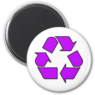 Reduce Reuse Recycle Logo Symbol Arrow 3R Magnet