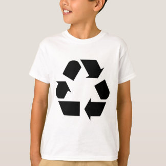 Reduce Reuse Recycle Logo Symbol Arrow 3R T-Shirt