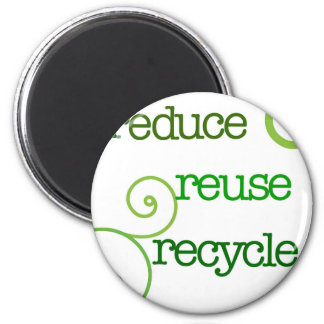 Reduce Reuse Recycle Magnets