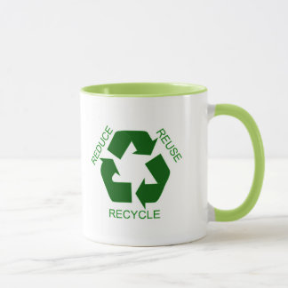 Reduce, Reuse, Recycle Mug