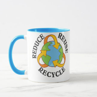 Reduce Reuse Recycle Mug