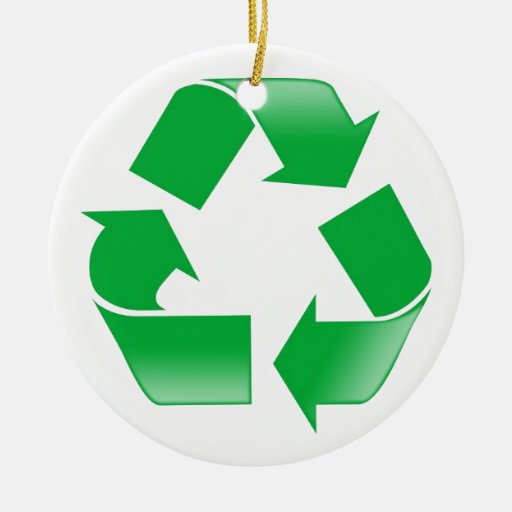 Reduce Reuse Recycle Christmas Ornaments