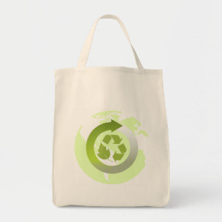 Reduce Reuse Recycle Planet Earth's Resources Tote Bag