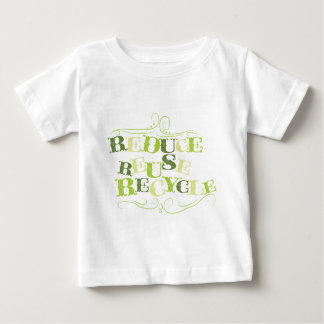 REDUCE REUSE RECYCLE.png Baby T-Shirt