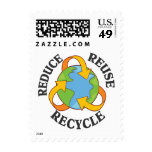 Reduce Reuse Recycle Postage