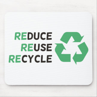 Reduce, Reuse, Recycle Products & Designs! Mouse Pad