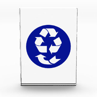Reduce Reuse Recycle Recover Symbol (4 Rs) Acrylic Award