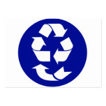 Reduce Reuse Recycle Recover Symbol (4 Rs) Business Card Templates