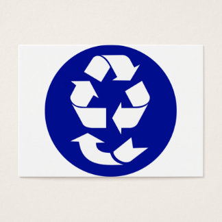 Reduce Reuse Recycle Recover Symbol (4 Rs) Business Card