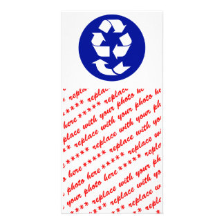 Reduce Reuse Recycle Recover Symbol (4 Rs) Card