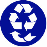 Reduce Reuse Recycle Recover Symbol (4 Rs) Cut Out