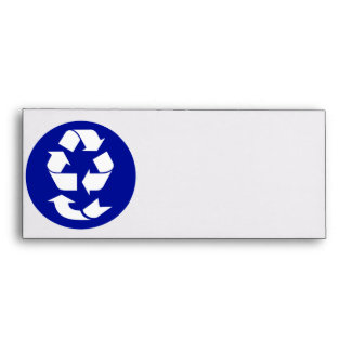 Reduce Reuse Recycle Recover Symbol (4 Rs) Envelope