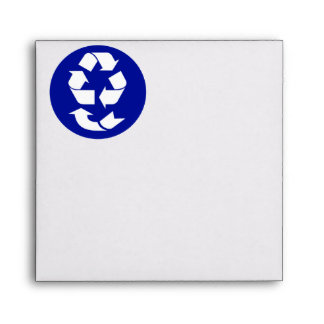 Reduce Reuse Recycle Recover Symbol (4 Rs) Envelopes