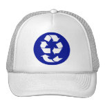Reduce Reuse Recycle Recover Symbol (4 Rs) Hats