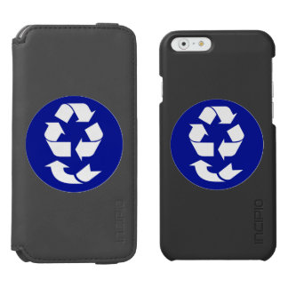Reduce Reuse Recycle Recover Symbol (4 Rs) iPhone 6/6s Wallet Case