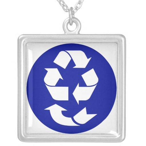 Reduce Reuse Recycle Recover Symbol (4 Rs) Custom Jewelry