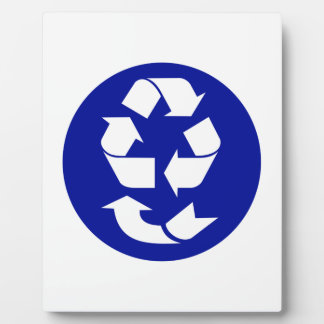 Reduce Reuse Recycle Recover Symbol (4 Rs) Display Plaques