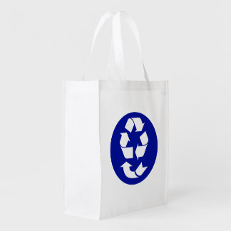 Reduce Reuse Recycle Recover Symbol (4 Rs) Grocery Bags