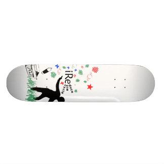 Reduce Reuse Recycle Skateboard Deck