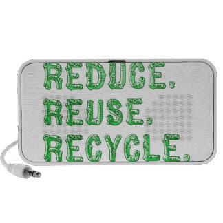 Reduce Reuse Recycle speaker