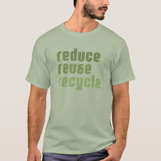 Reduce Reuse Recycle T-shirt / Earth Day T-shirt