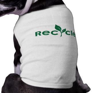 Reduce, reuse, recycle tee