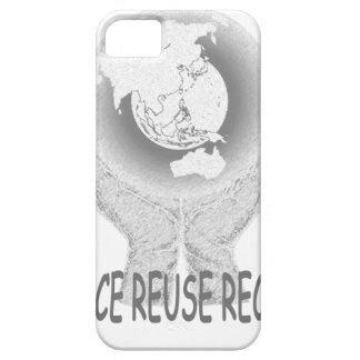 Reduce Reuse Recycle Tee.png iPhone 5 Case