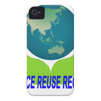 Reduce Reuse Recycle Tee ''.png iPhone 4 Case