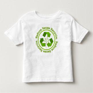 Reduce Reuse Recycle Toddler T-shirt