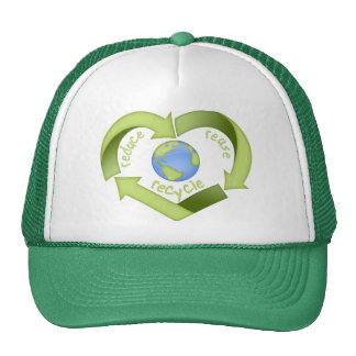 Reduce, Reuse, Recycle Trucker Hat
