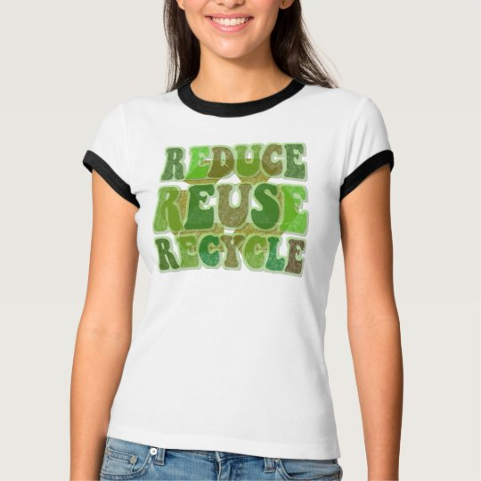 Reduce Reuse Recycle Womens Vintage Shirt