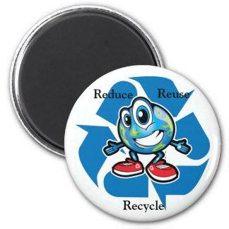 Reduce, Reuse, Recylce Magnet