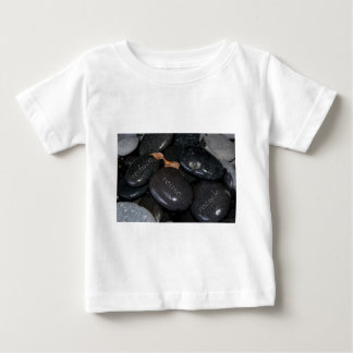 reduce reuse recyle rocks baby T-Shirt