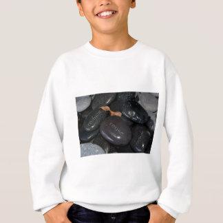 reduce reuse recyle rocks sweatshirt