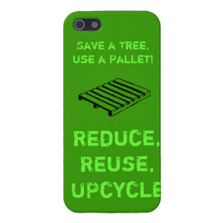 Reduce, Reuse, Upcycle iPhone Case
